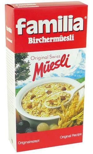 Birchermüsli Original Schweiz - Birchermüesli