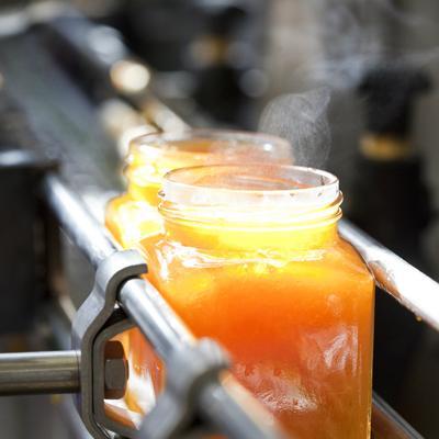 Herstellung von Alpe Pragas Marmelade