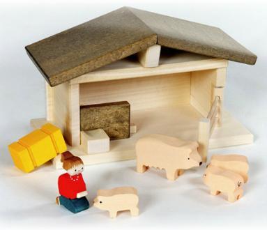 Schweinestall Set