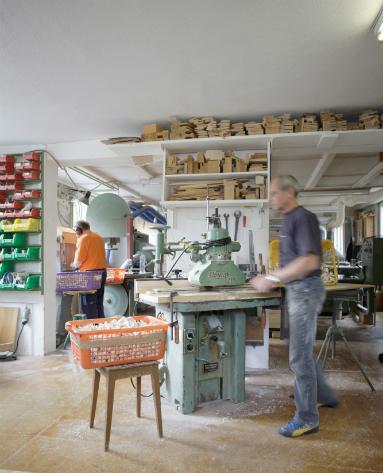 Die Trauffer Werkstatt