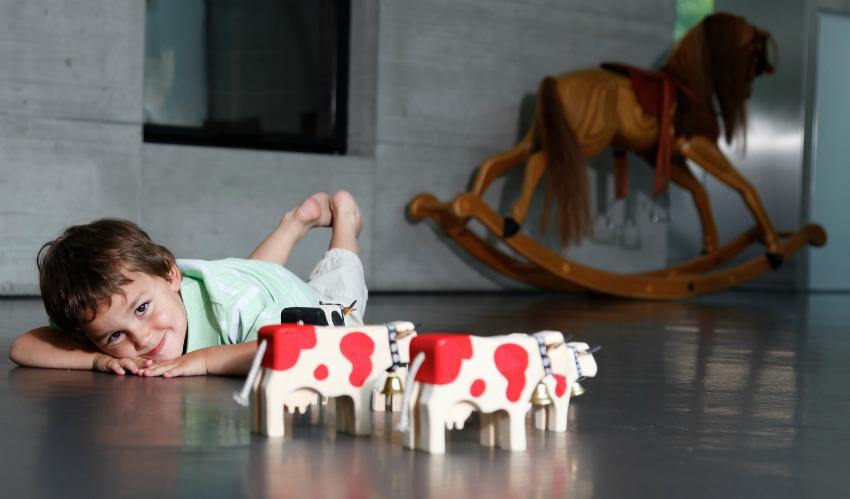 Handgefertigt und von Kindern geliebt: Die Figuren von Trauffer