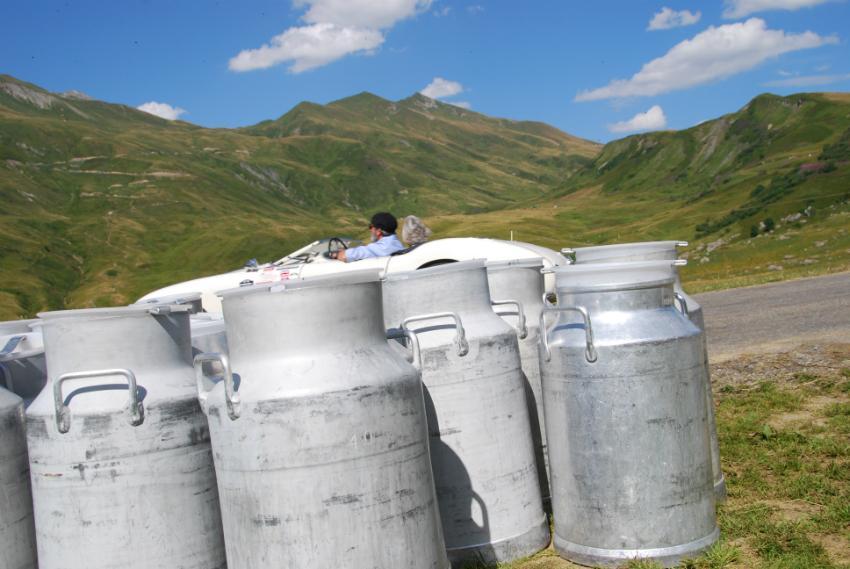Herrliche Berglandschaften in der Heimat des Génépi-Likörs