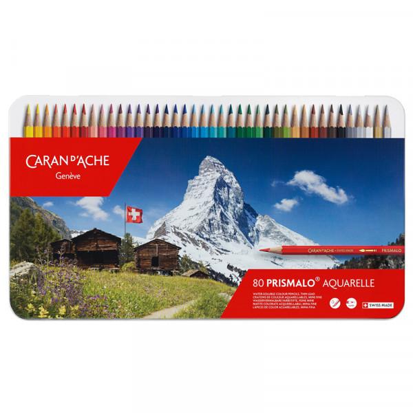 Prismalo Farbstifte 80 Aquarelle Malstifte Swiss Made