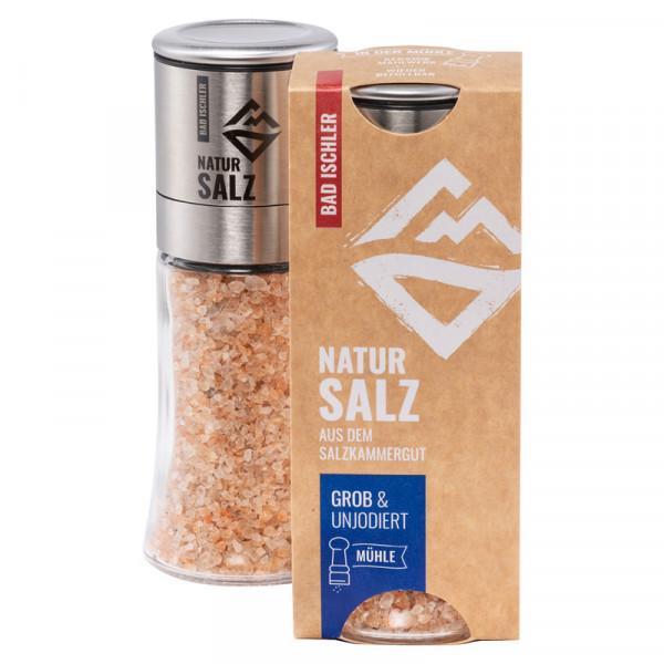 Natursalz in der Mühle - Salzmühle Altaussee - 80 g grob