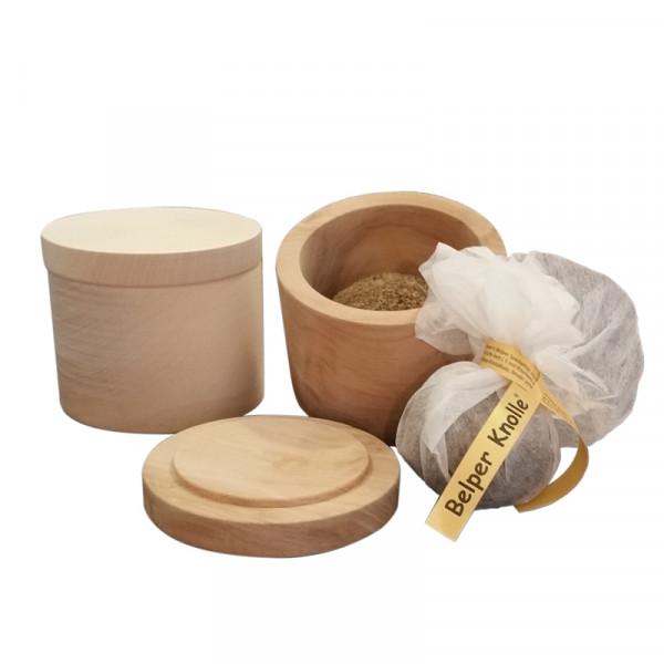 Belperknollenkeller - Holzdose für Belper Knolle