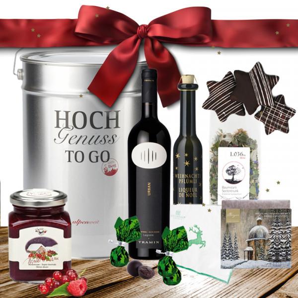"""Genussbox """"Stille Nacht"""" - Feinkost Weihnachtsgeschenk"""