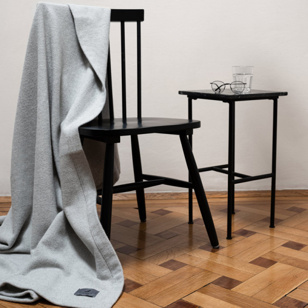 Steiner Decke Elisa marmor Kaschmir, Angora, Merino