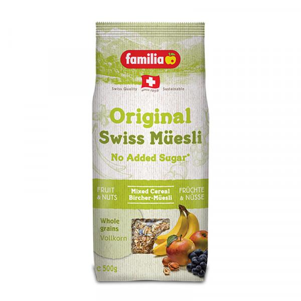 Familia Birchermüsli ungezuckert Original Swiss Müesli