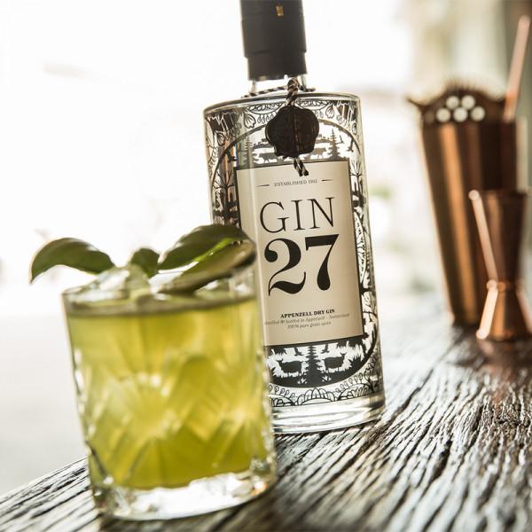 Appenzeller Gin 27 Dry Gin