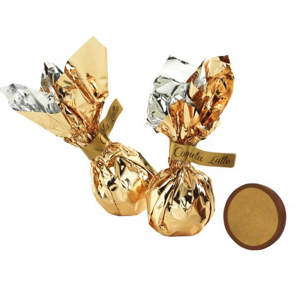 Schokoladen-Komet Vollmilch mit Milchcremefüllung - Venchi