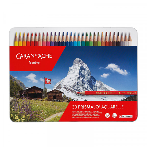 Prismalo Farbstifte 30 Stück Buntstifte Malstifte Swiss Made
