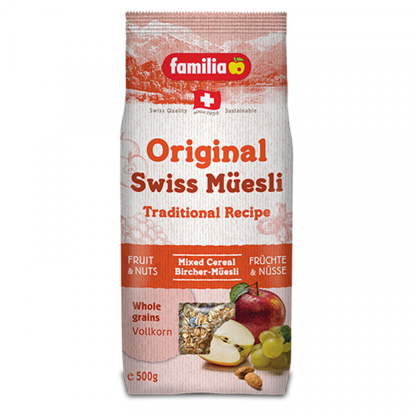 Original Schweizer Birchermüsli - Birchermüesli Swiss Müesli