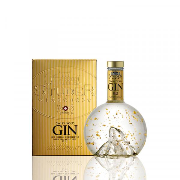Studer Swiss Gold Gin - Goldflitter