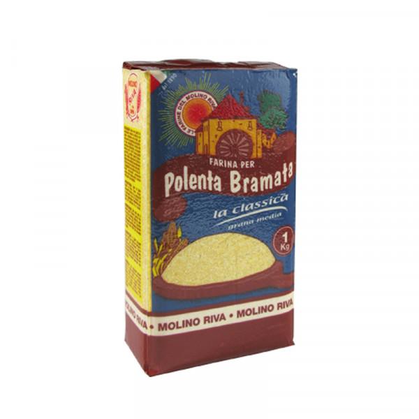 Polenta Bramata von Molino Riva - Italienischer Maisgrieß