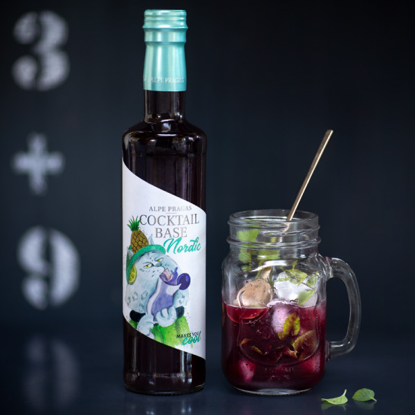 Fertige Cocktail Basis Nordic Cocktailbase alkoholfrei