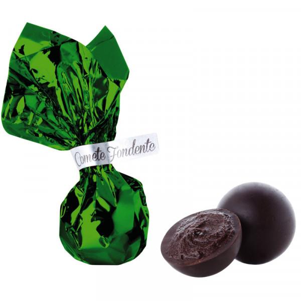 Schokoladen-Komet Extrabitter - Zartbitterpraline Venchi