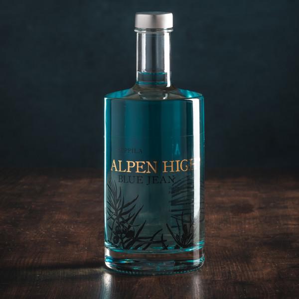 Alpen High Blue Jean Gin - Bergrestaurant Seppila